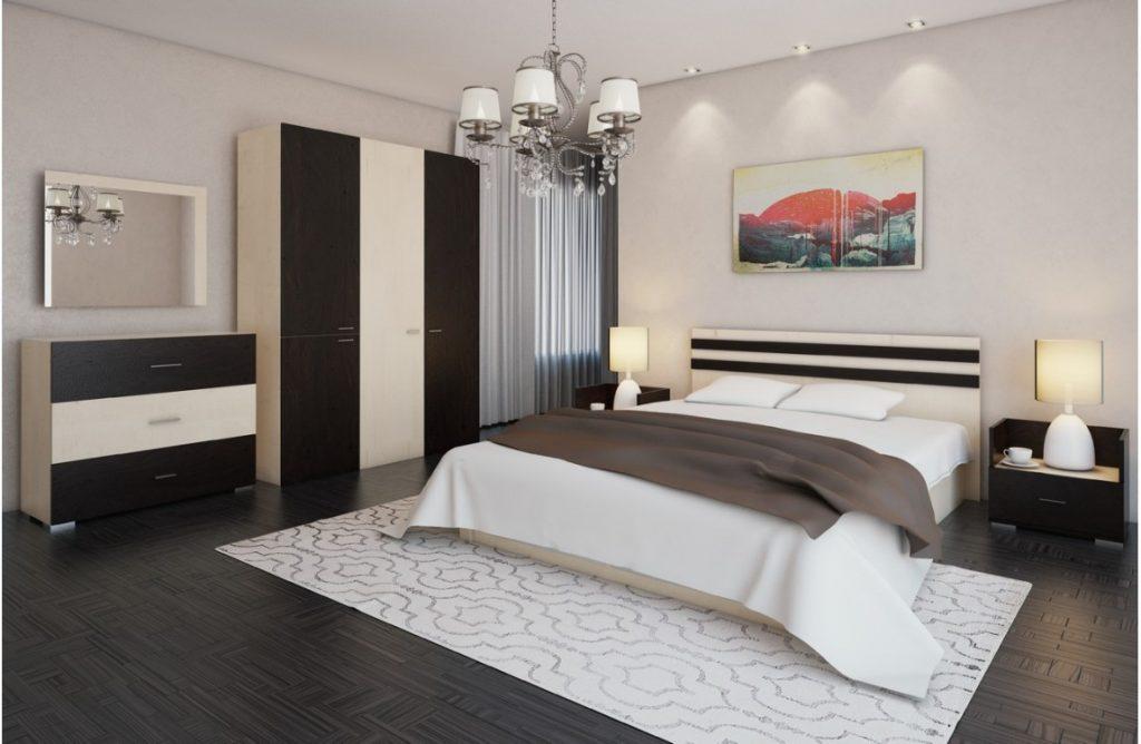 обзавеждане на малък апартамент - спалня